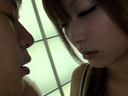 Amateur pussy licking with Asian milf Haruki Satou