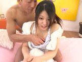 Small tits of Remon Aisu get exposed in close up picture 3