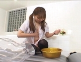 Yuri Haruna is a hot Asiam maid who likes getting her pussy drilled hard picture 12