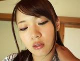 Busty Eri Hosaka screaming of high pleasure