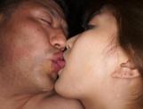 Yumi Mizuki receives creamy jizz over her big boobs
