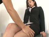 Yuna Shiratori enjoying a hot fuck at the office picture 4