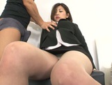 Yuna Shiratori enjoying a hot fuck at the office picture 6