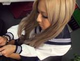 Julia Tachibana Asian babe in sexy school uniform