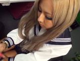 Julia Tachibana Asian babe in sexy school uniform picture 4