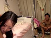 Young Japanese AV model is a teen slammed by a huge dick
