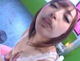 Yuu Namiki loving cock sucking action with cum in mouth picture 8