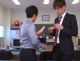 Kinky Japanese teen Aino Kishi begs for double penetration