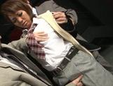 Young Asian doll Hikari enjoying a wild fuck session