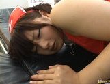 Skinny Asian girl in miniskirt Akane Ohzora likes anal intruison picture 15