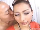 Emiri Gets Off When She Has Her Tits Fondled By Her Guys picture 13