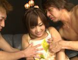 Group action with nice Asian teen Miyo Arakawa  picture 11
