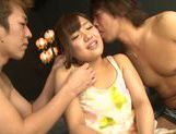 Group action with nice Asian teen Miyo Arakawa