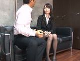 Young Japanese teacher Aya Eikura adores CFNM sex picture 11