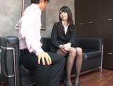 Young Japanese teacher Aya Eikura adores CFNM sex picture 13