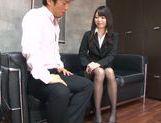 Young Japanese teacher Aya Eikura adores CFNM sex