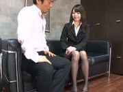 Young Japanese teacher Aya Eikura adores CFNM sex