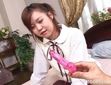 Japanese AV Model Is Masturbated And Then Fucked picture 1