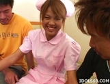Japanese Sexy Amateur Nurse Exxxtreme Gang Bang picture 1