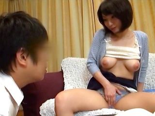 Lustful mature Japanese model gets nailed in all poses