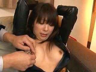 Naughty Japanese milf in dirty porn scene