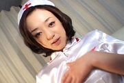 Rina Yuuki  Hot Japanese nurse spreads her legshot tits, big tits sex