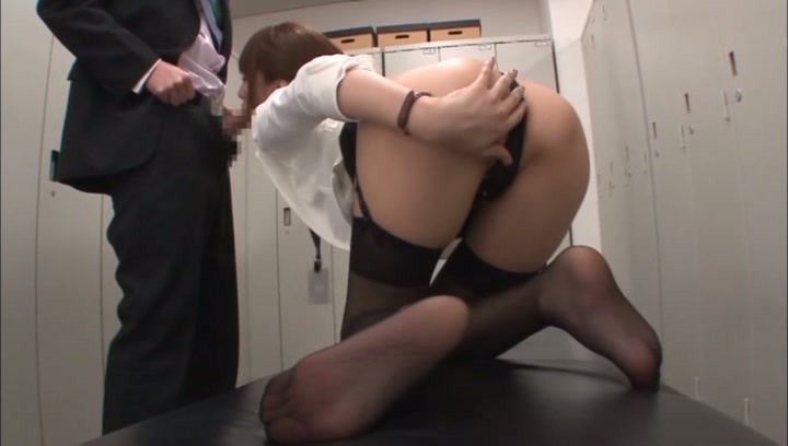 Naughty Japanese office lady Arisu Miyuki gets pleasure of cockbig asian boobs, japanese tits, huge tits