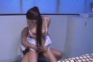 Married milf enjoys office sex with bosshuge tits, big asian boobs, big tits sex