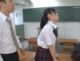 Rumi Kamida amazing horny Japanese schoolgirl picture 11