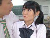 Rumi Kamida amazing horny Japanese schoolgirl picture 12