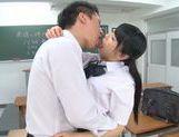 Rumi Kamida amazing horny Japanese schoolgirl picture 15