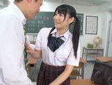 Rumi Kamida amazing horny Japanese schoolgirl