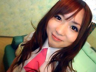 Yuu Asakura is a pretty and kinky Asian schoolgirl