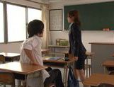 Kinky sex with Nami Hoshino the new female teacher picture 7