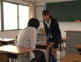 Kinky sex with Nami Hoshino the new female teacher picture 8