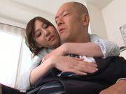 Sexy Asian teacher Yui Tatsumi fucks her horny boss