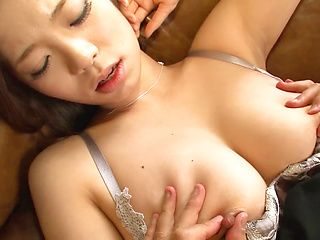 Busty Natsumi Shiraishi loves it deep and hard