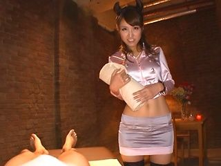 Sexy Aozora Yamakawa enjoys swallowing jizz