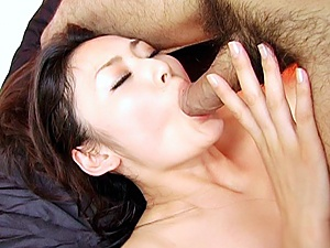 Risa Murakami Hot Asian model gets creampie