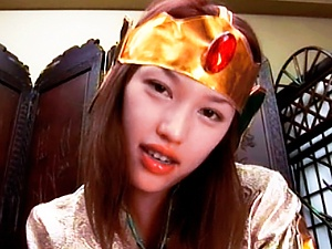 Japanese model is a sweet girl