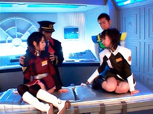 Airi and Meiri hot asian ladies cosplay