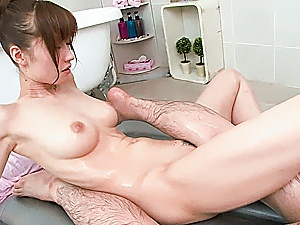 Asian milf Yuna Hayashi amazes with her naughty skills and style