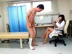 Amateur and wild MILF nurse loves pissing action in pantyhose