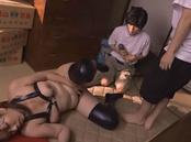 Insatiable Asian mature Chisato Shohda enjoys group action