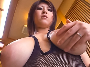 Busty Rina Araki is in for harsh pleasures on cam