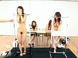 Japanese babes in crazy sex game