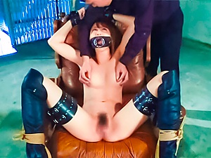 Hot milf loves some wild bondage fuck