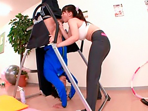 Sporty girl Anna Natsuki loves stunning fucking a lot