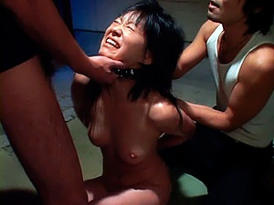 Beautiful Asian Model With Oiled Body In A Hot Prison Group Fuck