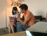 Teen Nozomi Aiuchi banged from behind and gets creampied picture 15
